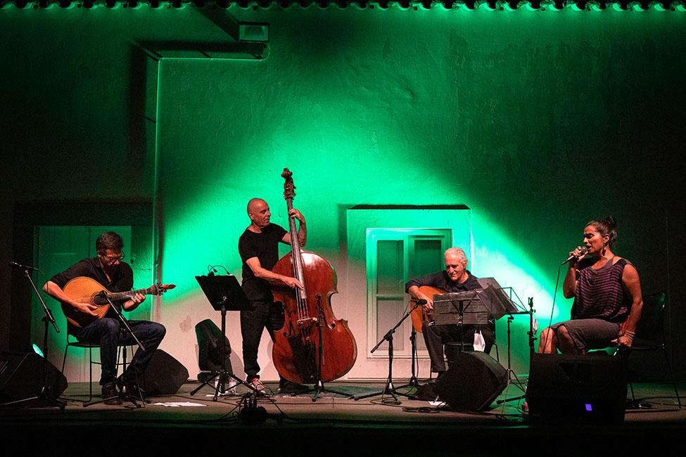 LST – Lisbon String Trio e Cristina Branco no Jazz no Palácio.