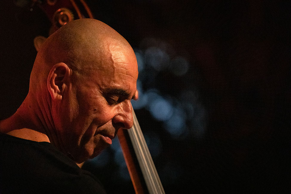 Carlos Barretto no «Jazz no Palácio».