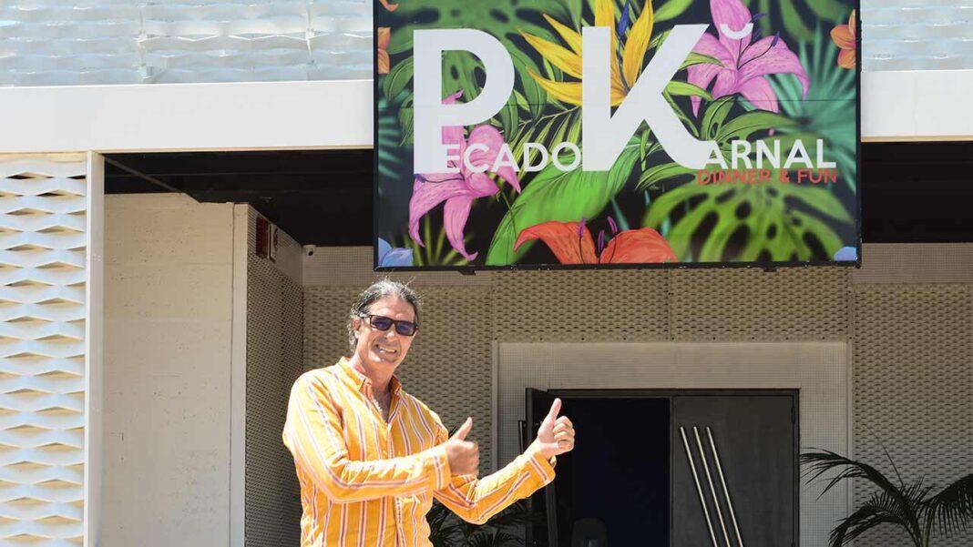 Famoso espaço noturno em Boliqueime não se deixa vencer pela pandemia e abre como restaurante Pecado Karnal. Ideia é juntar música e diversão à mesa ao longo do ano, segundo conta ao barlavento Fernando Pacheco, CEO do grupo Kapital.