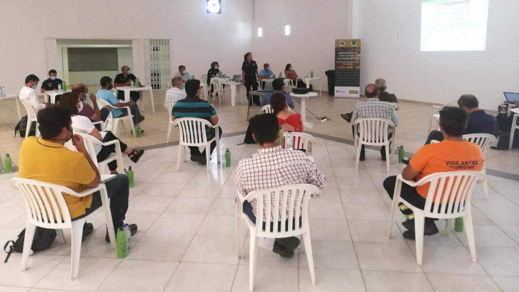 Reunião da Comissão de Proteção de Incêndios em Loulé