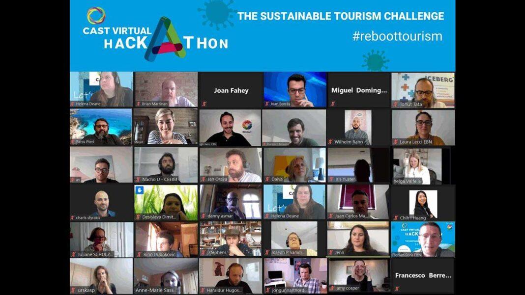 Algarvios representaram Portugal em concurso europeu de soluções inovadoras e disruptivas na área do Turismo e venceram com um projeto cuja ideia principal é a criação de soluções tecnológicas que permitam minimizar o impacte da COVID-19 no sector do Turismo e potenciar novas alternativas de negócio.