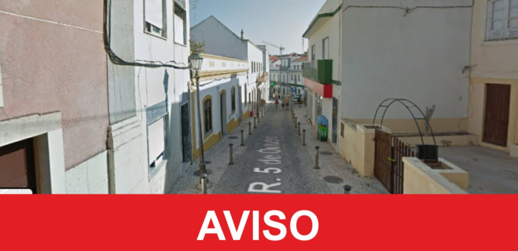 Baixa comercial de Silves