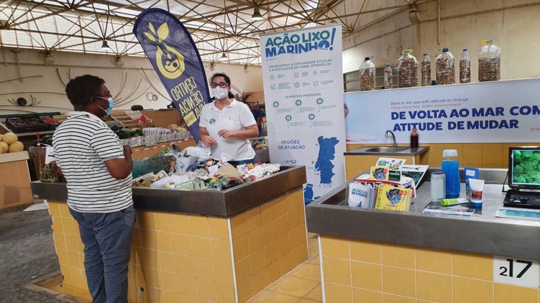 «Ação Lixo Marinho!» no Mercado Municipal de Tavira