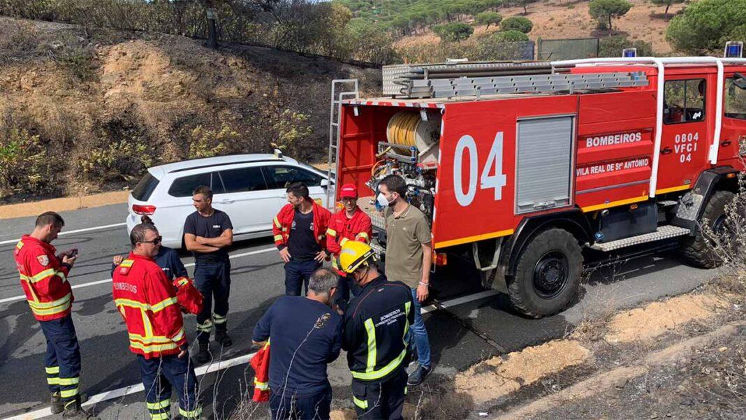 Eurocidade do Guadiana orgulha-se da colaboração entre os bombeiros de Portugal e Espanha para a extinção de um fogo em Ayamonte.