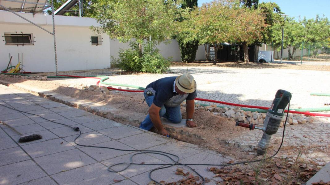 Obras nas escolas de Castro Marim