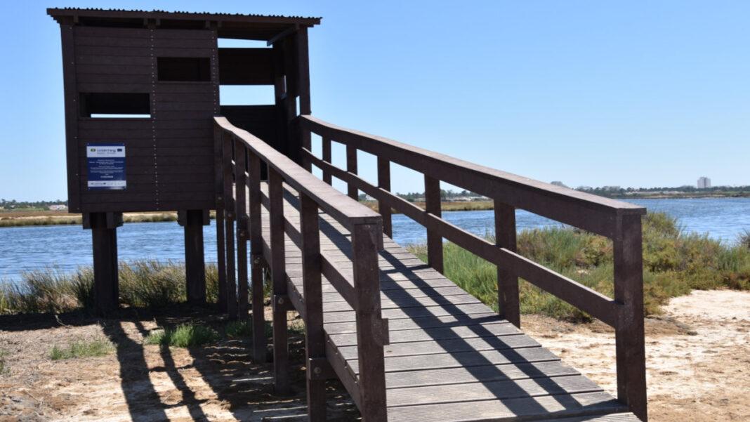 Observatório de Aves no percurso do «Cerro do Bufo»