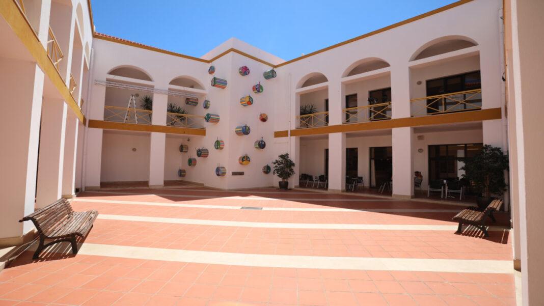 Pátio do Centro Cultural de Lagos