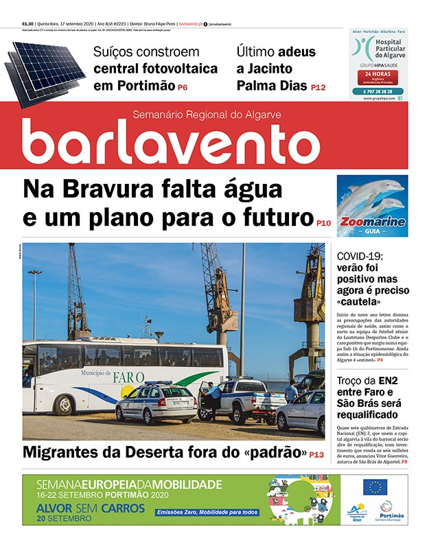 jornal barlavento semanário regional do Algarve edição 2223