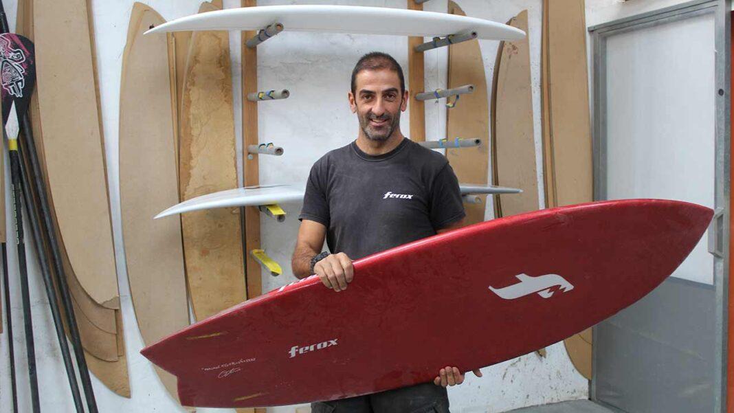 Ferox Surfboards, marca de São Brás de Alportel, criou um design que pode ser usado por qualquer pessoa com necessidades especiais ou limitações físicas.