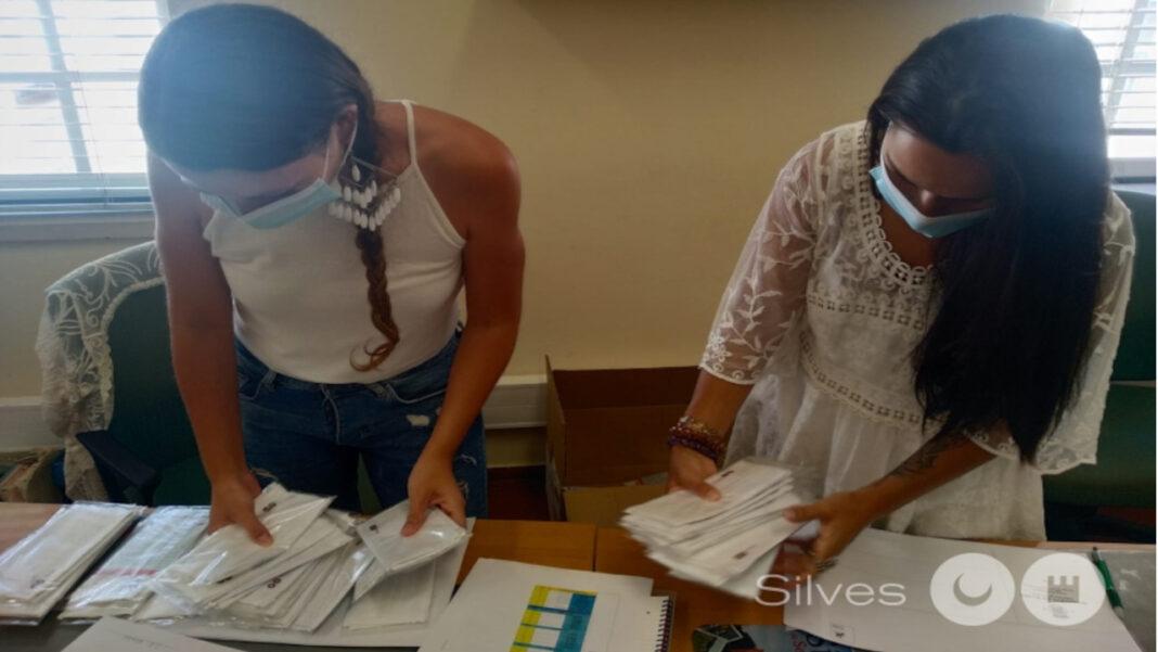 Silves distribui máscaras pela comunidade escolas
