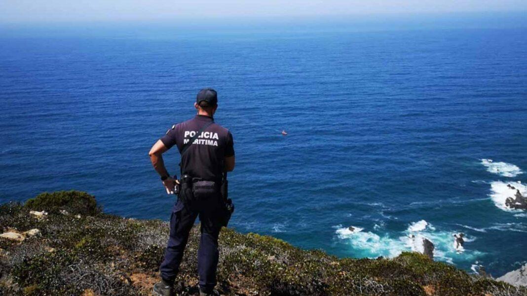 Operação de resgate de pescador lúdico em Vila do Bispo envolveu dois helicópteros na sexta-feira, dia 5 de setembro.