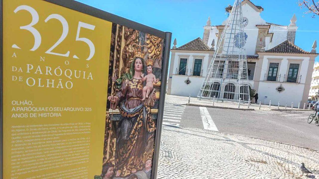 Uma exposição de rua da autoria do Arquivo Municipal de Olhão, está patente no passeio central da Avenida da República, no âmbito das comemorações dos 325 anos da Paróquia de Nossa Senhora do Rosário de Olhão.