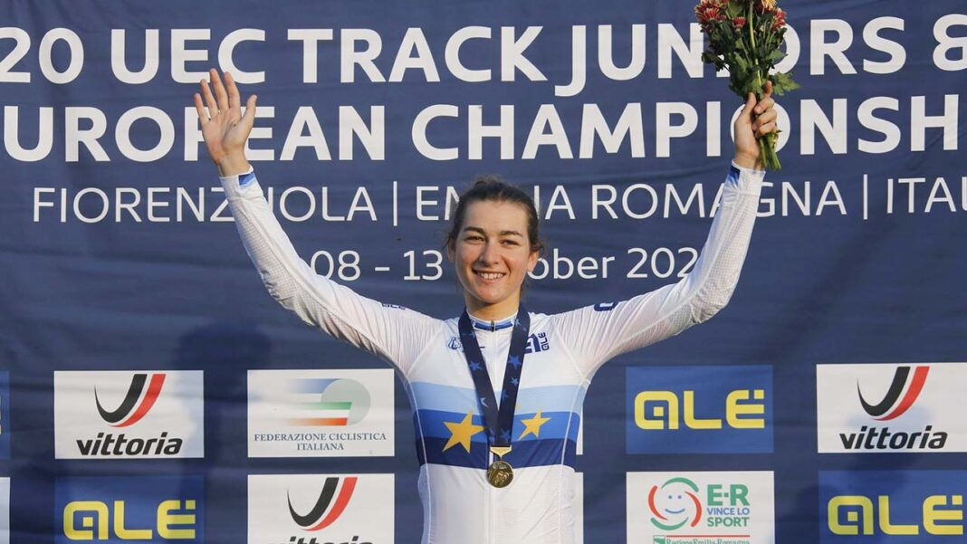 Ciclista algarvia Daniela Campos conquistou ontem, sábado, 10 de outubro, o título europeu júnior de eliminação no Campeonato da Europa de Pista que decorre em Fiorenzuola d'Arda, Itália. Iuri Leitão vice-campeão europeu sub-23 na corrida por pontos.