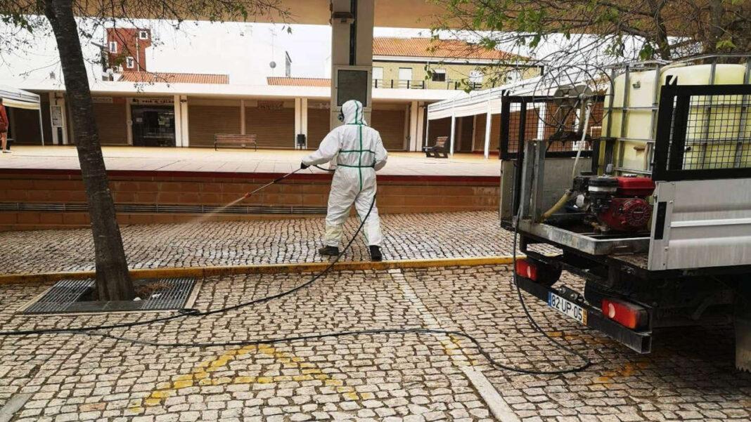 Ações de desinfeção em VRSA
