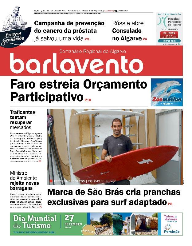 jornal barlavento semanário regional do Algarve edição 2224