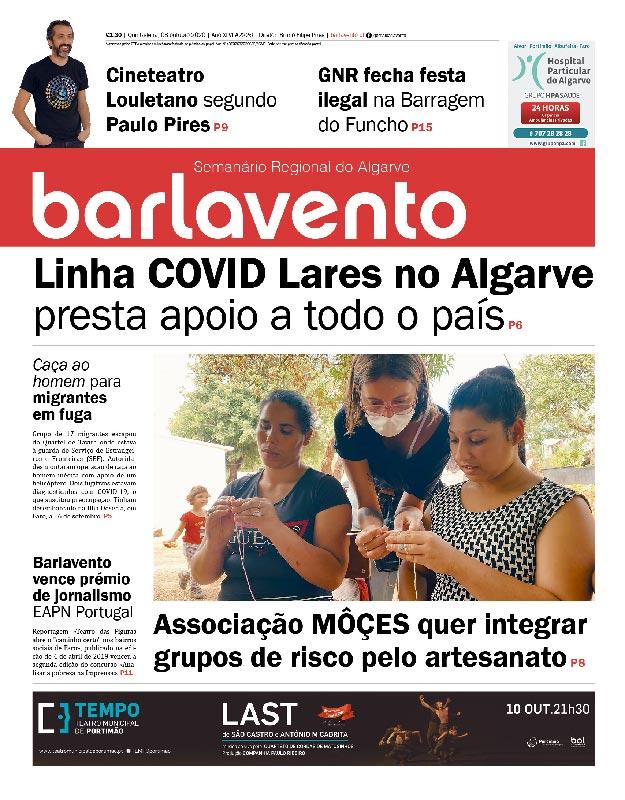 jornal barlavento semanário regional do Algarve edição 2226
