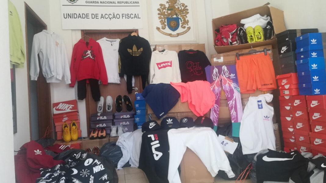 GNR apreende roupa contrafeita em Olhão