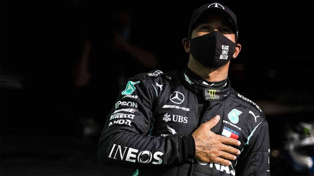O piloto britânico Lewis Hamilton (Mercedes) considerou que hoje foi «um dia abençoado», depois de conquistar a 92ª vitória da sua carreira no Grande Prémio de Portugal de Fórmula 1.