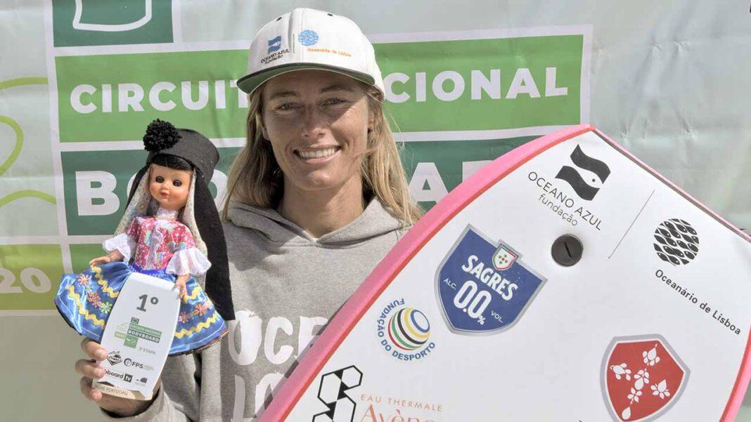 Joana Schenker venceu a 2ª etapa do Circuito Nacional de Bodyboard Feminino que decorreu nos dias 3 e 4 de outubro na Nazaré.