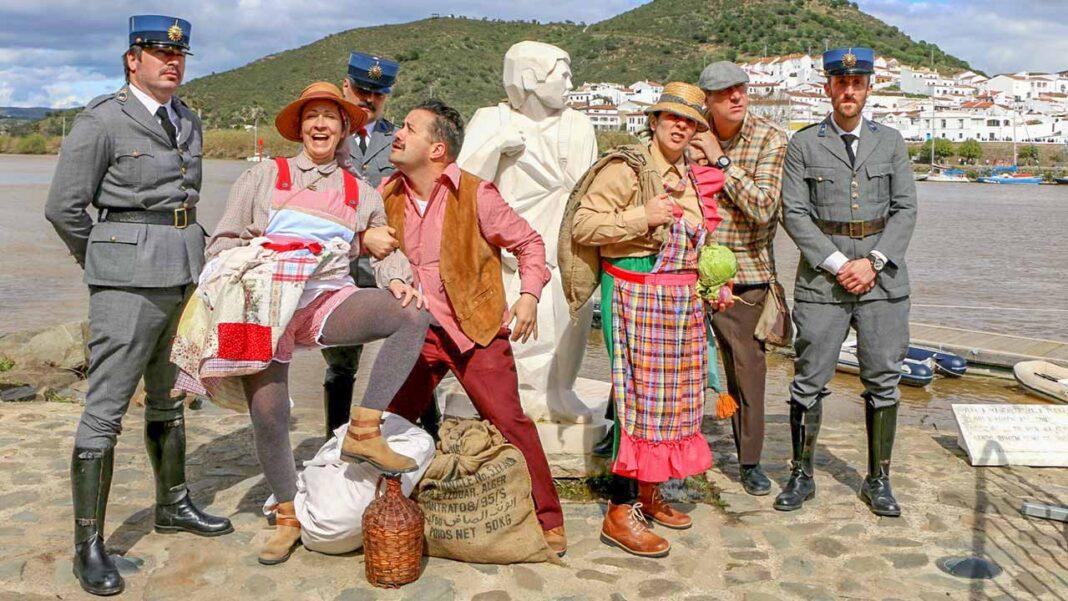 Neste ano atípico, o Festival do Contrabando na sua máxima expressão do Tráfico de Artes no Guadiana, em formato online.