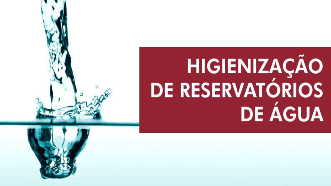 Silvez faz Higienização de Reservatórios de Água
