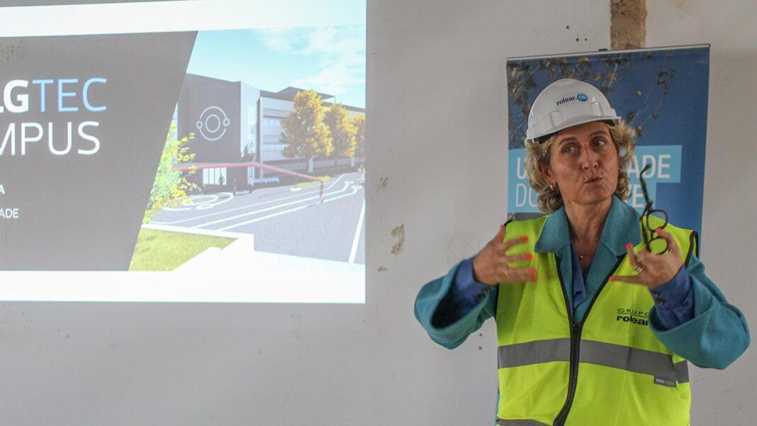 Ana Abrunhosa, ministra da Coesão Territorial e responsável pela gestão dos fundos comunitários europeus nas regiões, elogiou a futura aceleradora de empresas da Universidade do Algarve.