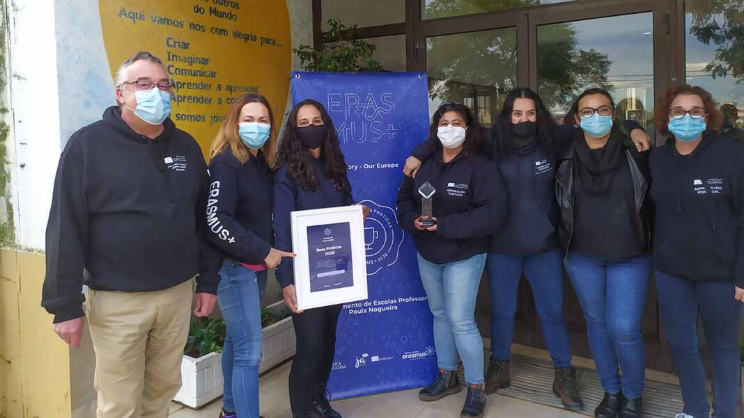 O projeto Erasmus+ «My Story - Our Europe», coordenado pelo Agrupamento de Escolas Professor Paula Nogueira (AEPPN), de Olhão, foi distinguido com o prémio Boas Práticas ERASMUS+ Ensino Escolar 2020.