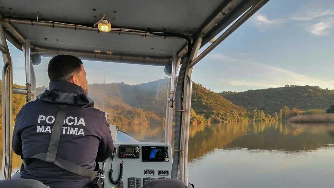 Polícia Marítima deteta corpo de um homem na margem espanhola do Rio Guadiana.