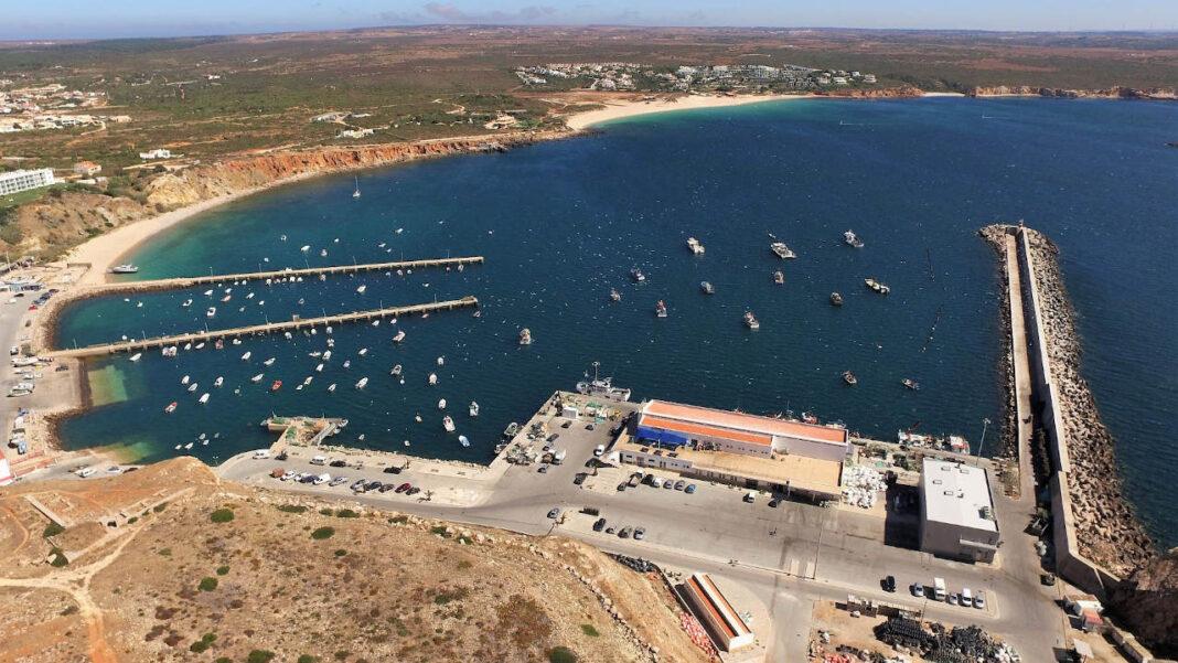 Porto de pesca de Sagres