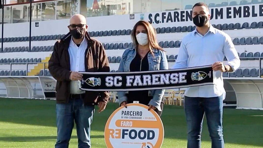 Farense, Missão Continente e Refood de Faro vão distribuir 10 mil produtos em cabazes de bens essenciais.