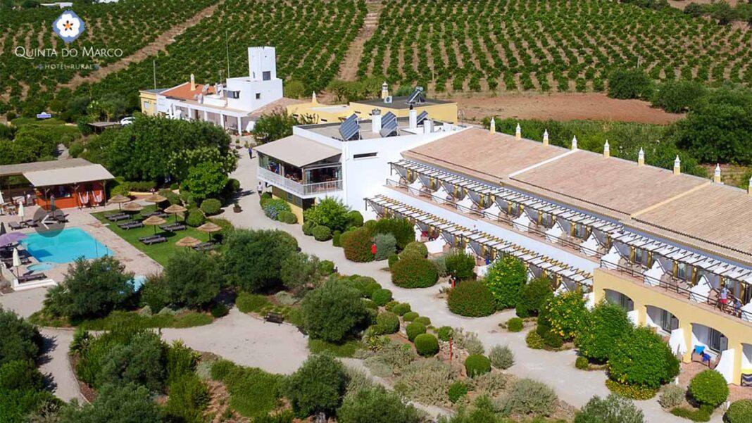 Hotel Rural Quinta do Marco, no interior do concelho de Tavira oferece com condições especiais para os profissionais de saúde poderem descansar.