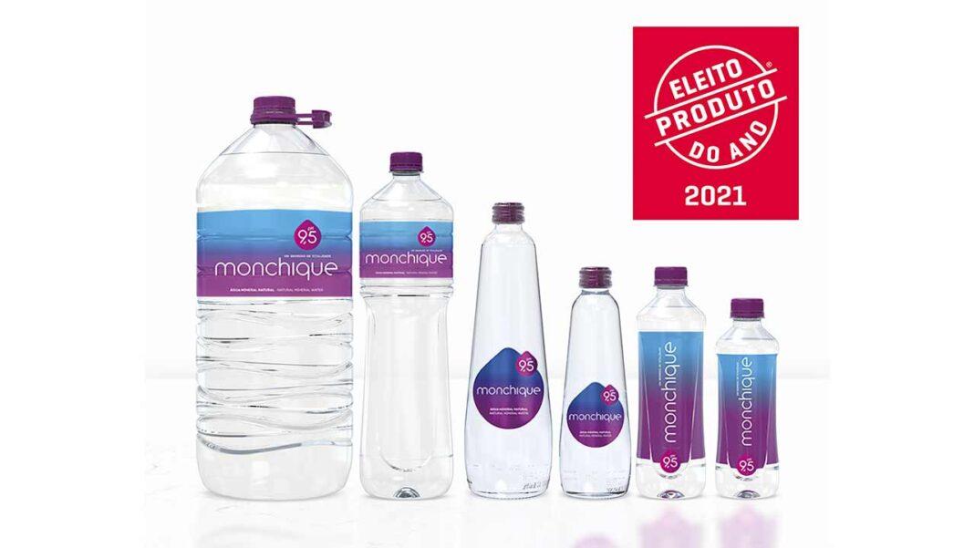 Água Monchique foi eleita Produto do Ano 2021 – Inovação Premiada por Consumidores na Categoria Águas.