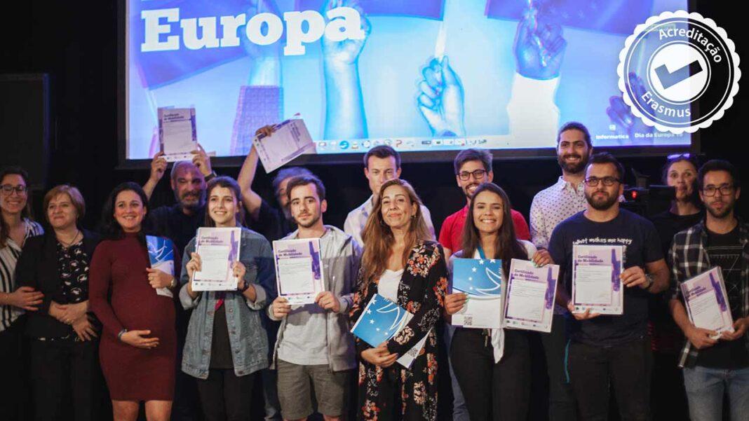 A ETIC_Algarve viu a sua candidatura à acreditação ERASMUS 2021-2027 ser aprovada.