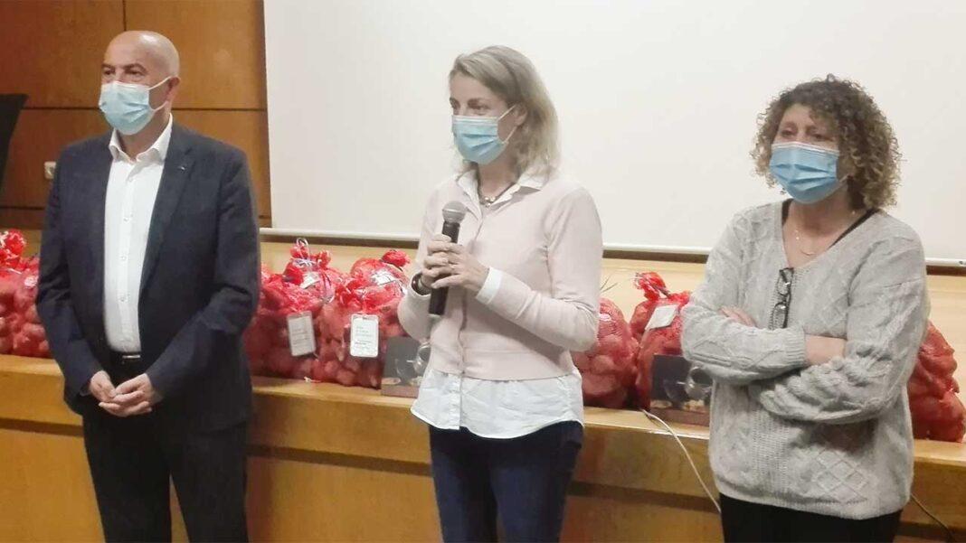 Hospital de Portimão recebeu hoje 10 toneladas de batata-doce de Aljezur.