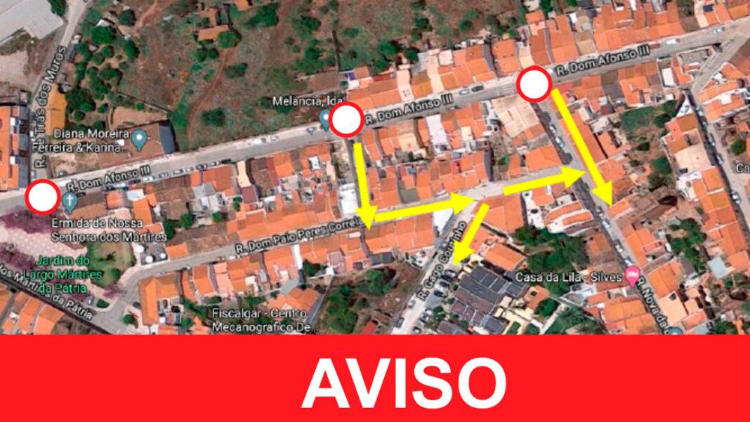 Silves - Rua Dom Afonso III