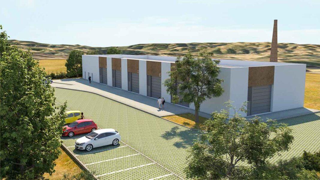 Antiga fábrica de cortiça no Ameixial vai ser transformada em espaço de incubação de empresas pela autarquia de Loulé.