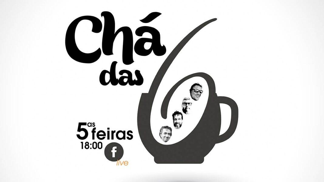 Eliseu Correia e convidados estreiam o talk show quinzenal «Chá das Seis» nas redes sociais já esta quinta-feira, dia 8 de abril. A Eliseu Correia juntam-seRui Virgínia, produtor de vinho e proprietário da Quinta do Barranco Longo (Silves), o conhecido empresário Paulo Bernardo administrador da Wifi4Medi, e Manuel Manero, CMO da InTouchBiz, empreendedor há mais de 20 anos, e apaixonado por marketing digital e comunicação.