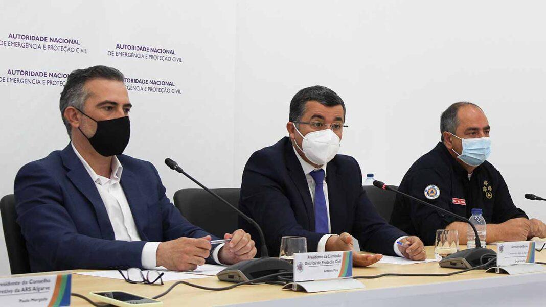 Comentários sobre a situação pandémica no Algarve «são injustos e incorretos» lamenta António Miguel Pina.