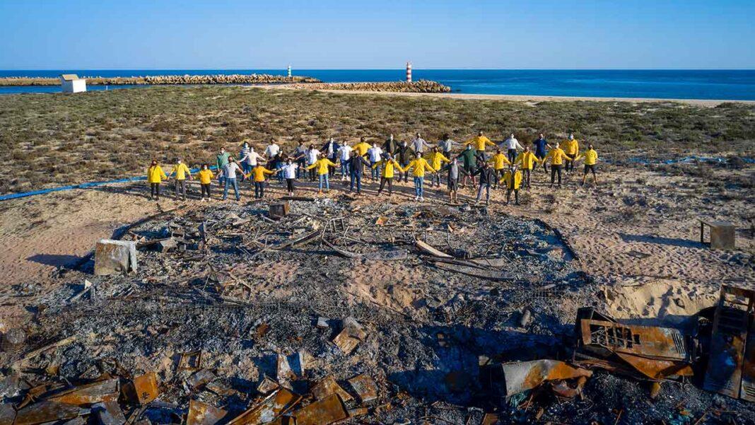 O Luto irá dar lugar à Esperança no sítio onde, um dia, existiu o Restaurante Estaminé. Começam esta semana os trabalhos de remoção dos escombros.