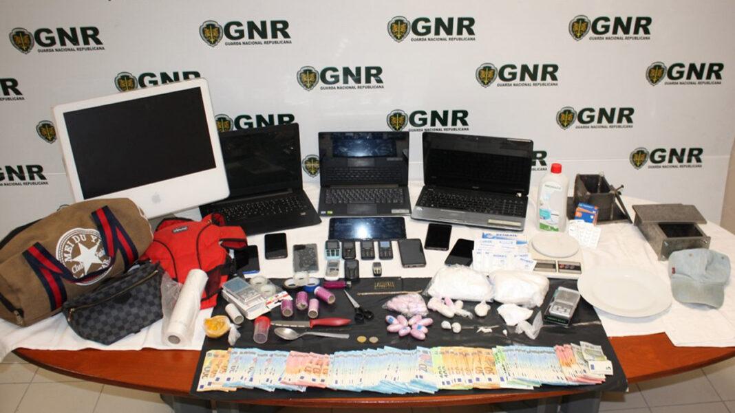 GNR - Traficantes de droga Almancil e Sintra