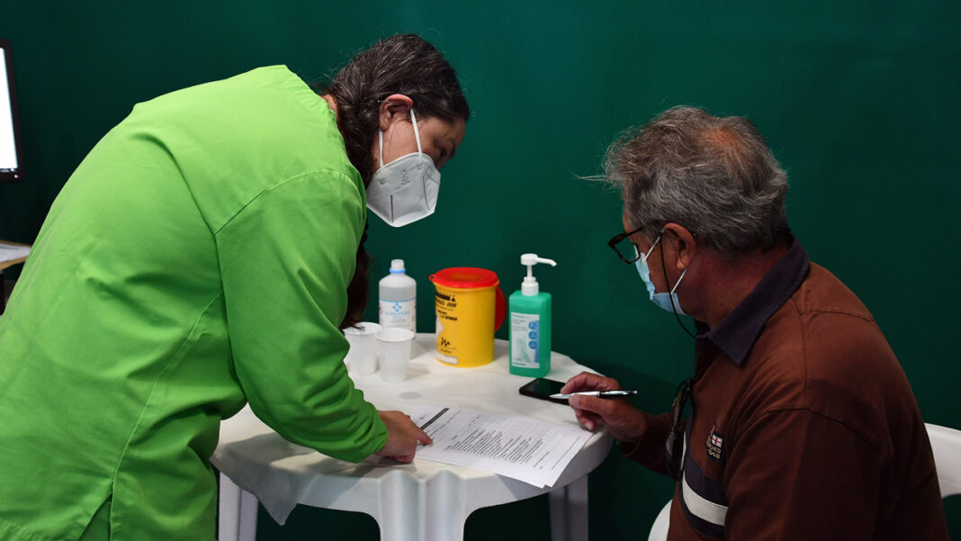 Centro de Vacinação COVID-19 em VRSA