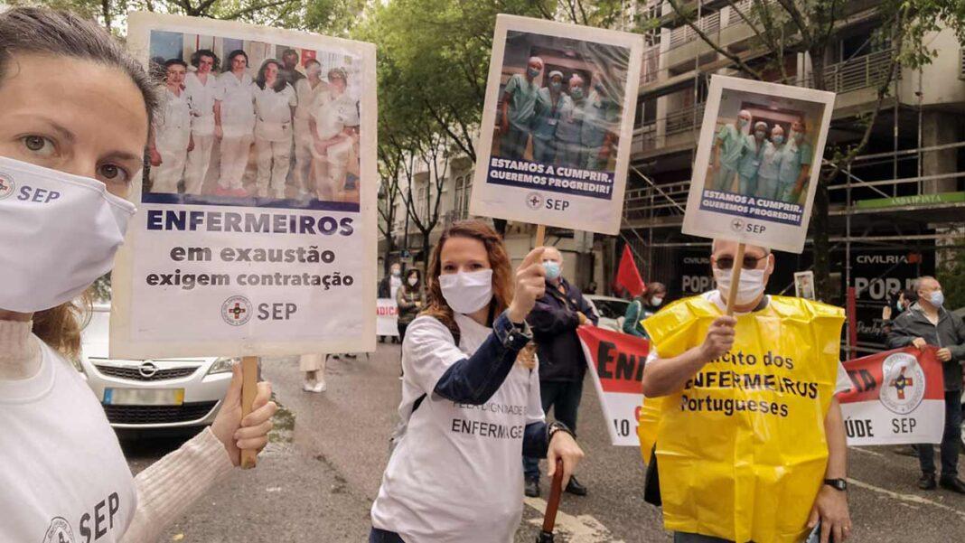 Sindicato dos Enfermeiros Portugueses (SEP) acusa Administração Regional de Saúde (ARS) do Algarve de despedir enfermeiras por telefone. Agravamento dos problemas laborais determinarão novas formas de denúncia e luta.