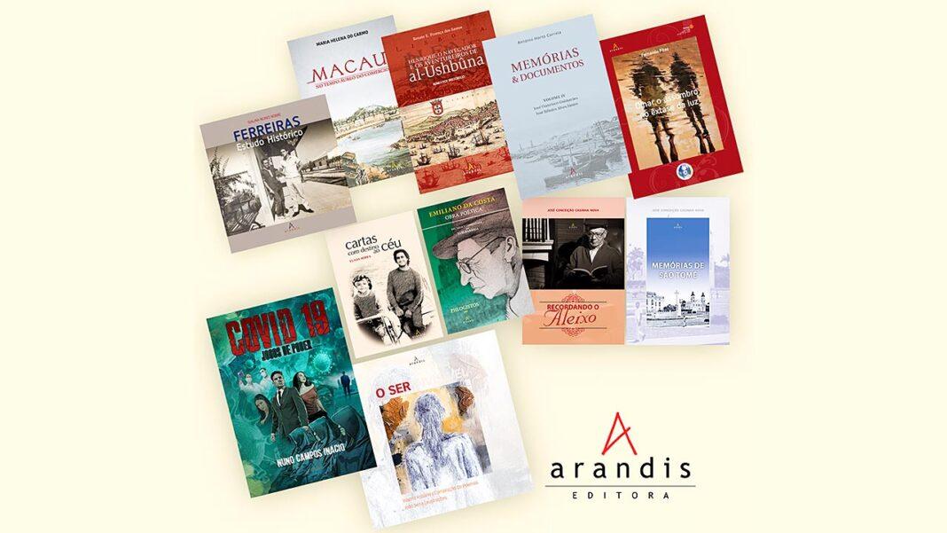 A Arandis Editora escolheu o Dia de Portugal, de Camões e das Comunidades Portuguesas, celebrado hoje, 10 de junho, para anunciar a retoma da sua atividade editorial.