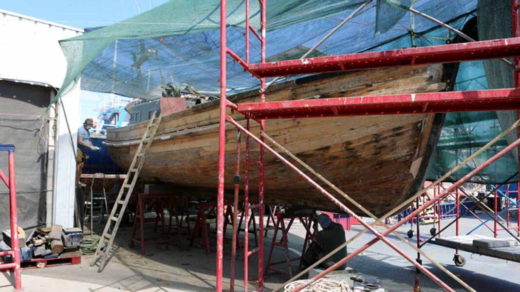 Histórica embarcação «Moira» vai acostar junto ao Museu de Portimão.