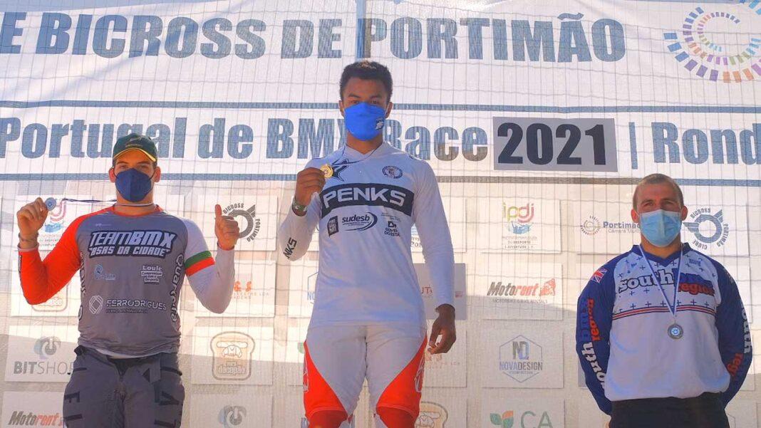 Silva Fonseca (Abs BMX) dominou por completo a primeira e a segunda prova prova da Taça de Portugal de BMX, que decorreu no domingo, 6 de junho, no Parque da Juventude de Portimão.
