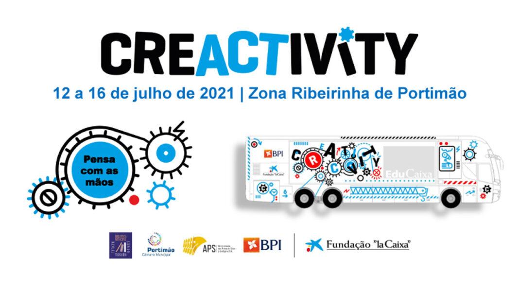 Autocarro Creactivity em Portimão