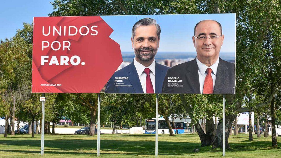 A coligação Unidos por Faro, liderada por Rogério Bacalhau, anuncia Cristóvão Norte como cabeça de lista à Assembleia Municipal de Faro.