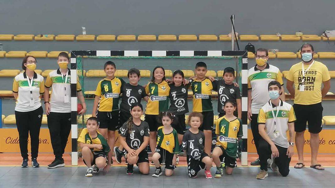 O Andebol Clube de Olhão (ACO), prestes a celebrar três anos de existência, congratula-se pelo crescimento da equipa técnica e do número de atletas.