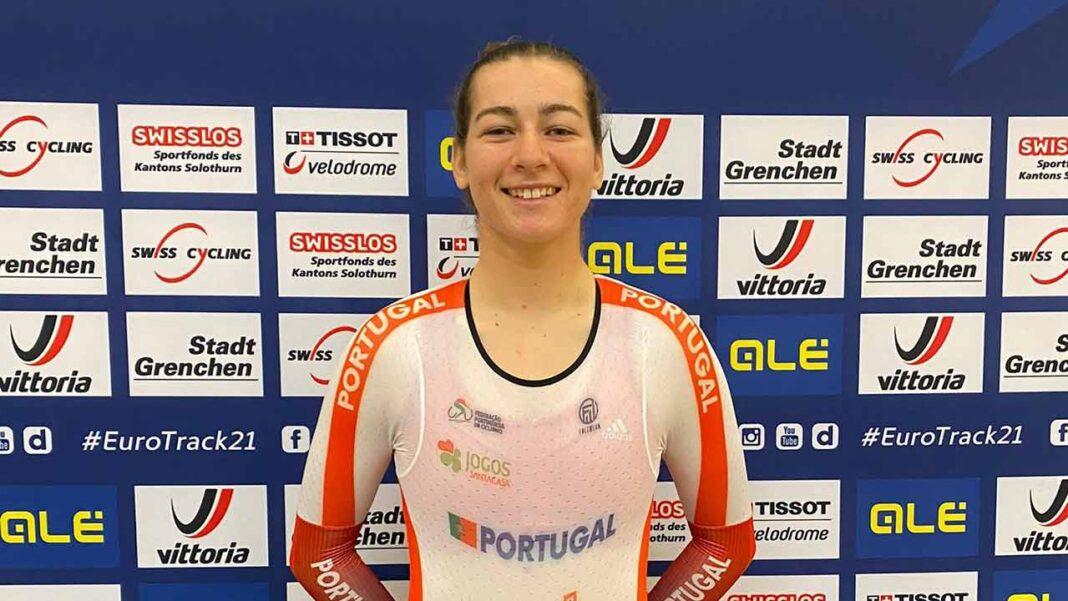Daniela Campos surpreende com 9.º lugar na corrida por pontos