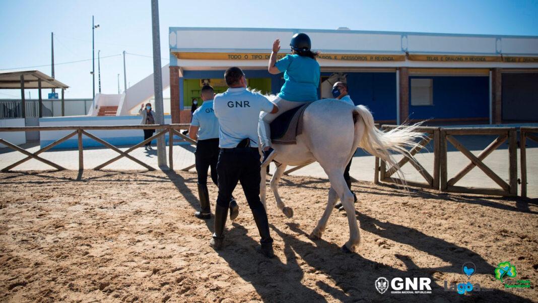 GNR - Hipoterapia em Lagoa